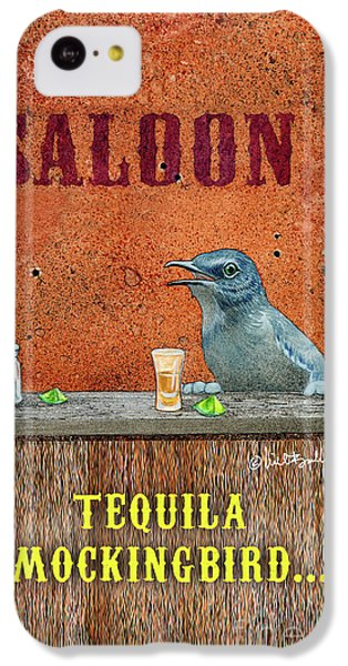 Mockingbird iPhone 5c Case - Tequila Mockingbird... by Will Bullas