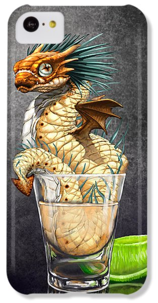 Dragon iPhone 5c Case - Tequila Wyrm by Stanley Morrison