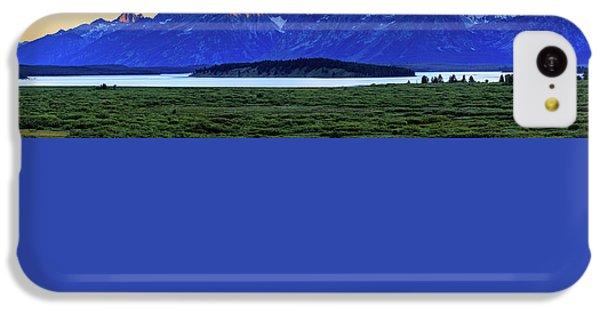 Teton Sunset IPhone 5c Case by David Chandler
