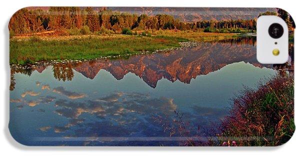 Mountain iPhone 5c Case - Teton Wildflowers by Scott Mahon