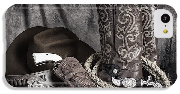 Universities iPhone 5c Case - Texas Lawman by Tom Mc Nemar