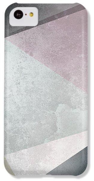 Textured Geometric Triangles IPhone 5c Case