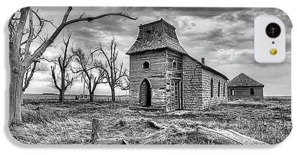 IPhone 5c Case featuring the photograph That Old Time Religion Black And White by JC Findley