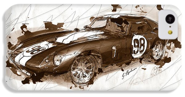 The 1965 Ford Cobra Mustang IPhone 5c Case