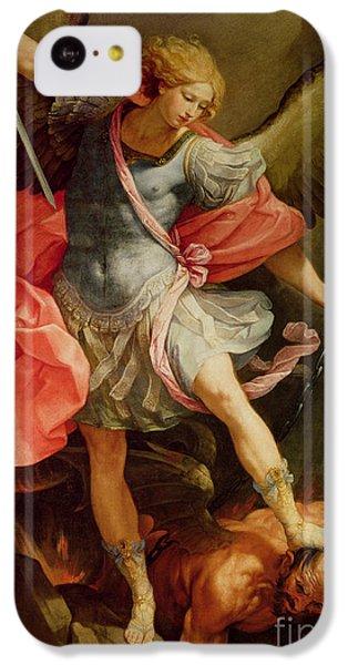 The Archangel Michael Defeating Satan IPhone 5c Case