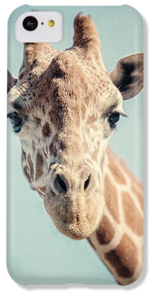 The Baby Giraffe IPhone 5c Case by Lisa Russo