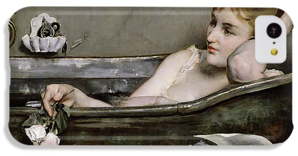 Nudes iPhone 5c Case - The Bath by Alfred George Stevens