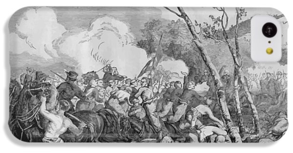 Bull iPhone 5c Case - The Battle Of Bull Run by War Is Hell Store