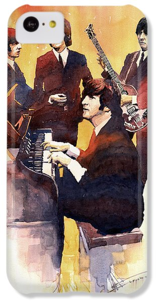 Musicians iPhone 5c Case - The Beatles 01 by Yuriy Shevchuk