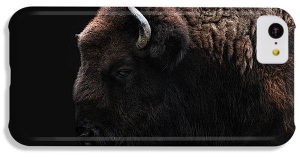 The Bison IPhone 5c Case by Joachim G Pinkawa