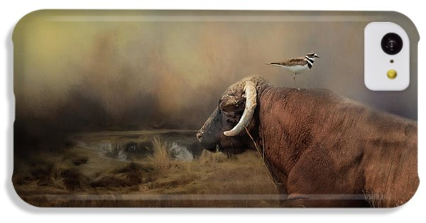 Killdeer iPhone 5c Case - The Bodyguard by Jai Johnson