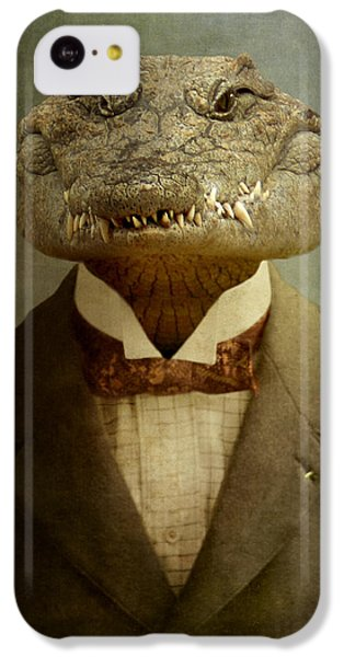Reptiles iPhone 5c Case - The Boss by Martine Roch