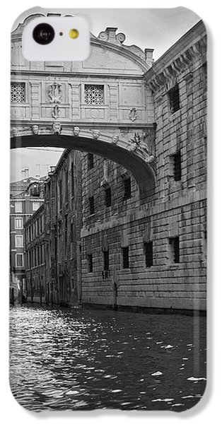 The Bridge Of Sighs, Venice, Italy IPhone 5c Case by Richard Goodrich
