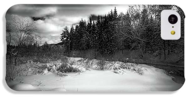 IPhone 5c Case featuring the photograph The Calm Of Winter by David Patterson