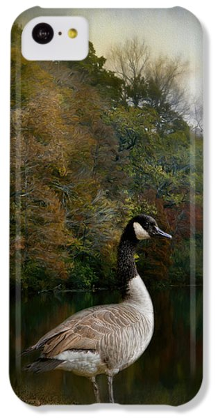 The Canadian Goose IPhone 5c Case by Jai Johnson