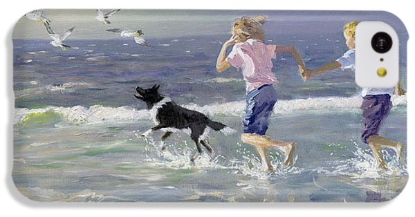 Seagull iPhone 5c Case - The Chase by William Ireland