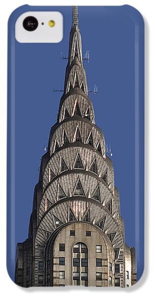 The Chrysler Building - Deco Detail IPhone 5c Case by Rona Black