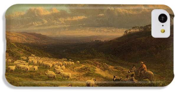 The Closing Day, Scene In Sussex IPhone 5c Case by George Vicat Cole