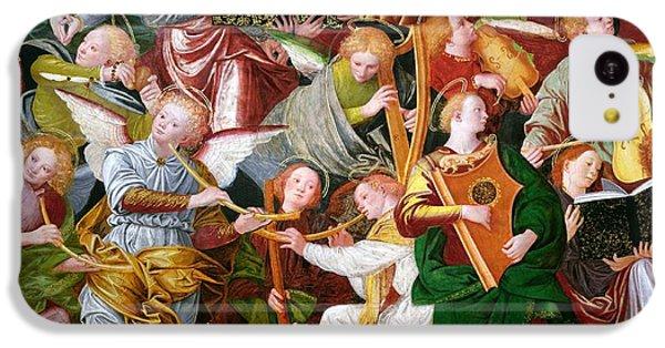 Trumpet iPhone 5c Case - The Concert Of Angels by Gaudenzio Ferrari