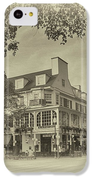 Penn State University iPhone 5c Case - The Corner Room In Sepia by Tom Gari Gallery-Three-Photography