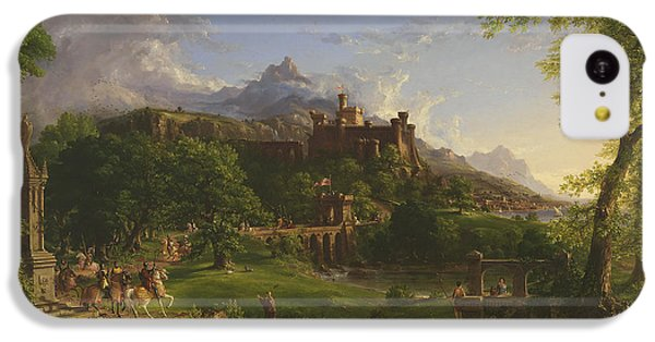 The Departure IPhone 5c Case by Thomas Cole