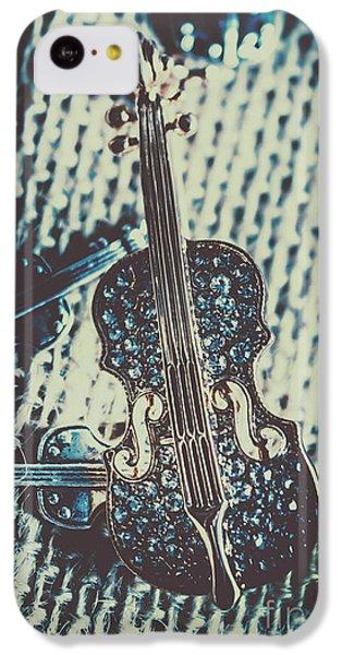 Violin iPhone 5c Case - The Diamond Symphony by Jorgo Photography - Wall Art Gallery