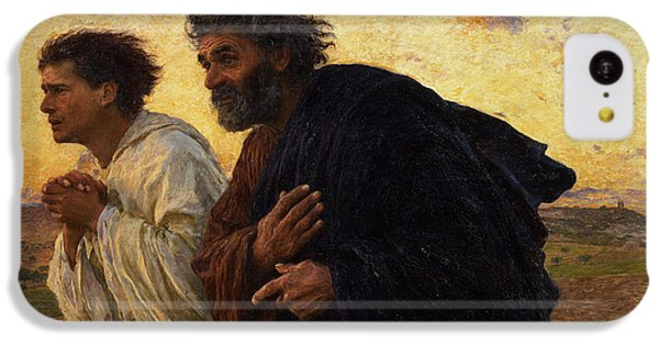 The Disciples Peter And John Running To The Sepulchre On The Morning Of The Resurrection IPhone 5c Case