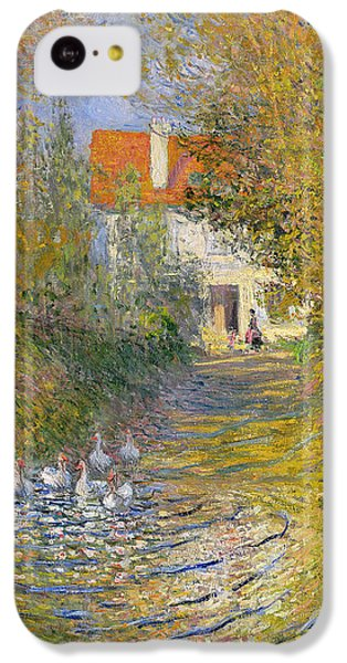 The Duck Pond IPhone 5c Case by Claude Monet