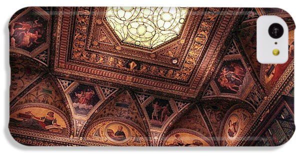 IPhone 5c Case featuring the photograph The East Room Ceiling by Jessica Jenney