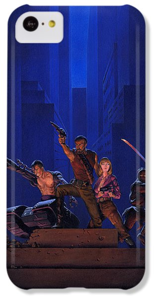 Knight iPhone 5c Case - The Eliminators by Richard Hescox