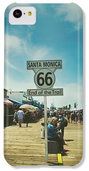The End Of Sixty-six IPhone 5c Case by Laurie Search