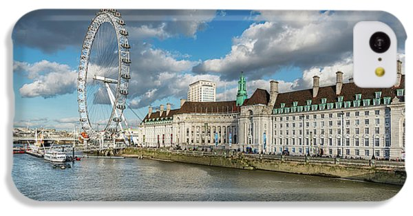 London Eye iPhone 5c Case - The Eye London by Adrian Evans