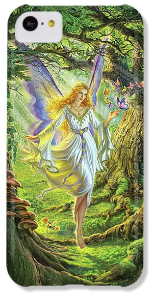 Fairy iPhone 5c Case - The Fairy Queen by Mark Fredrickson