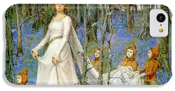 Elf iPhone 5c Case - The Fairy Wood by Henry Meynell Rheam