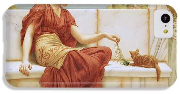 Cats iPhone 5c Case - The Favorite by John William Godward