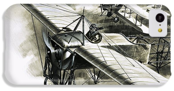 The First Reconnaissance Flight By The Rfc IPhone 5c Case by Wilf Hardy