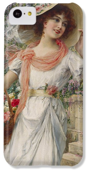 The Flower Girl IPhone 5c Case by Emile Vernon