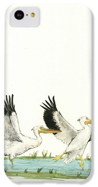 The Fox And The Pelicans IPhone 5c Case