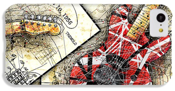 The Frankenstrat IPhone 5c Case by Gary Bodnar