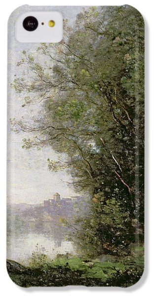 The Goatherd Beside The Water  IPhone 5c Case by Jean Baptiste Camille Corot