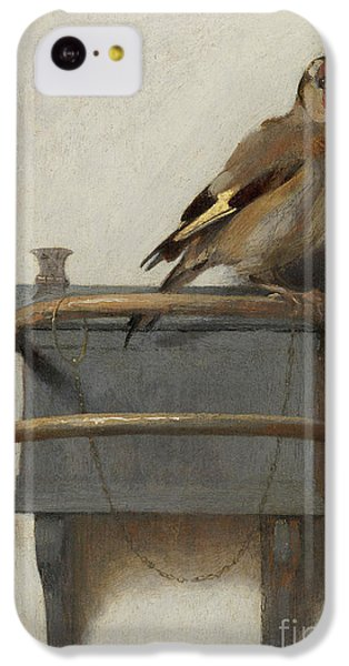 The Goldfinch, 1654  IPhone 5c Case by Carel Fabritius