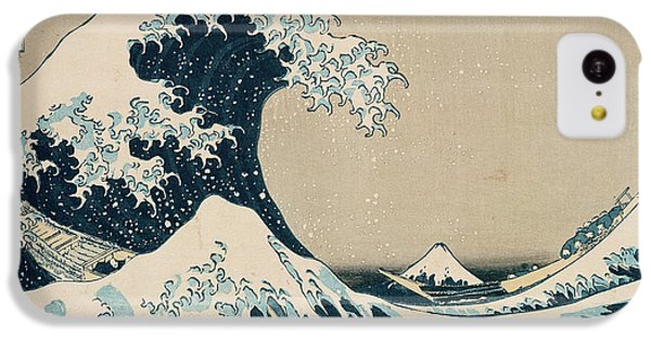 The iPhone 5c Case - The Great Wave Of Kanagawa by Hokusai