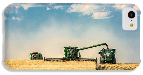 Rural Scenes iPhone 5c Case - The Green Machines by Todd Klassy