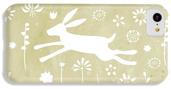 The Hare In The Meadow IPhone 5c Case by Nic Squirrell