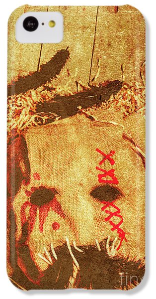 Raven iPhone 5c Case - The Harvester by Jorgo Photography - Wall Art Gallery