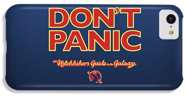 Design iPhone 5c Case - The Hitchhiker's Guide To The Galaxy by Super Lovely
