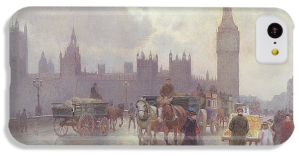 The Houses Of Parliament From Westminster Bridge IPhone 5c Case by Alberto Pisa