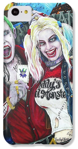 The Joker And Harley Quinn IPhone 5c Case