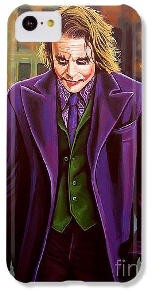 Knight iPhone 5c Case - The Joker In Batman  by Paul Meijering
