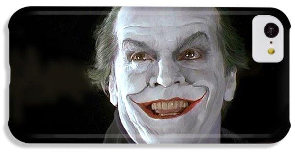 The Joker IPhone 5c Case by Paul Tagliamonte